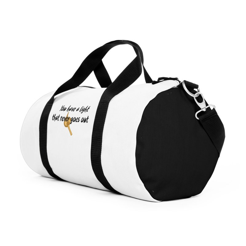 LIGHT! Accessories Duffel Bag Bag by gasponce