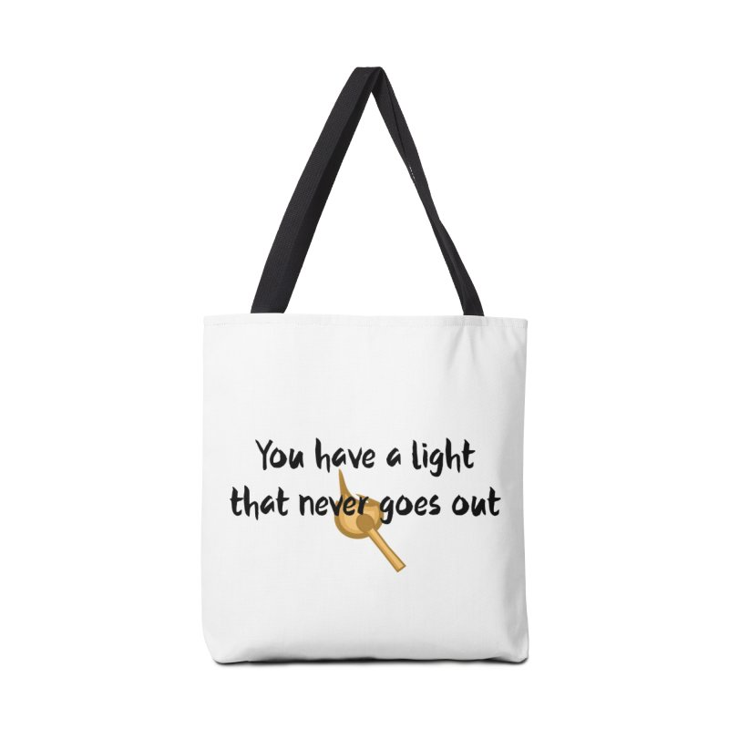 LIGHT! Accessories Tote Bag Bag by gasponce