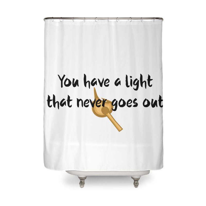 LIGHT! Home Shower Curtain by gasponce