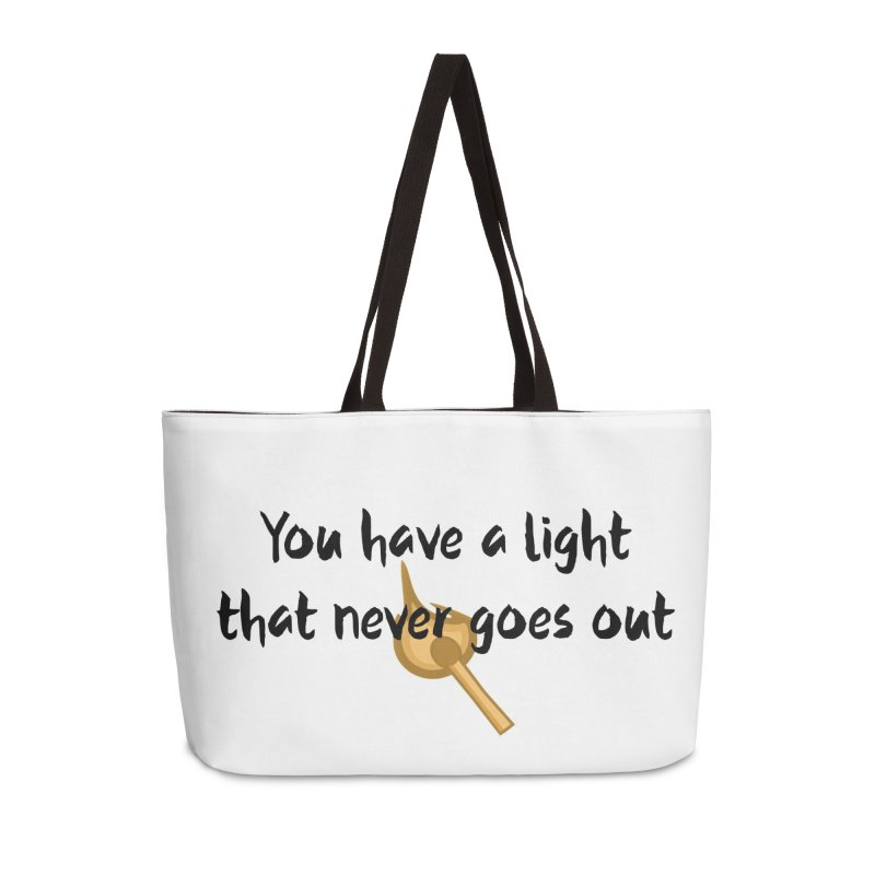LIGHT! Accessories Weekender Bag Bag by gasponce