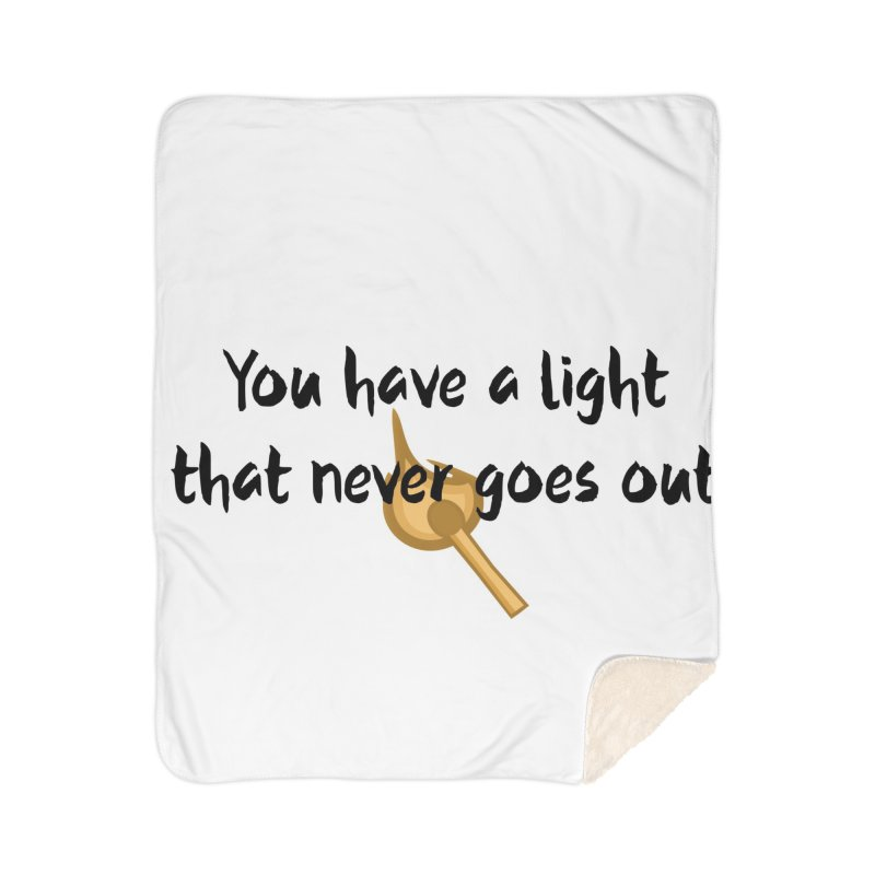 LIGHT! Home Sherpa Blanket Blanket by gasponce