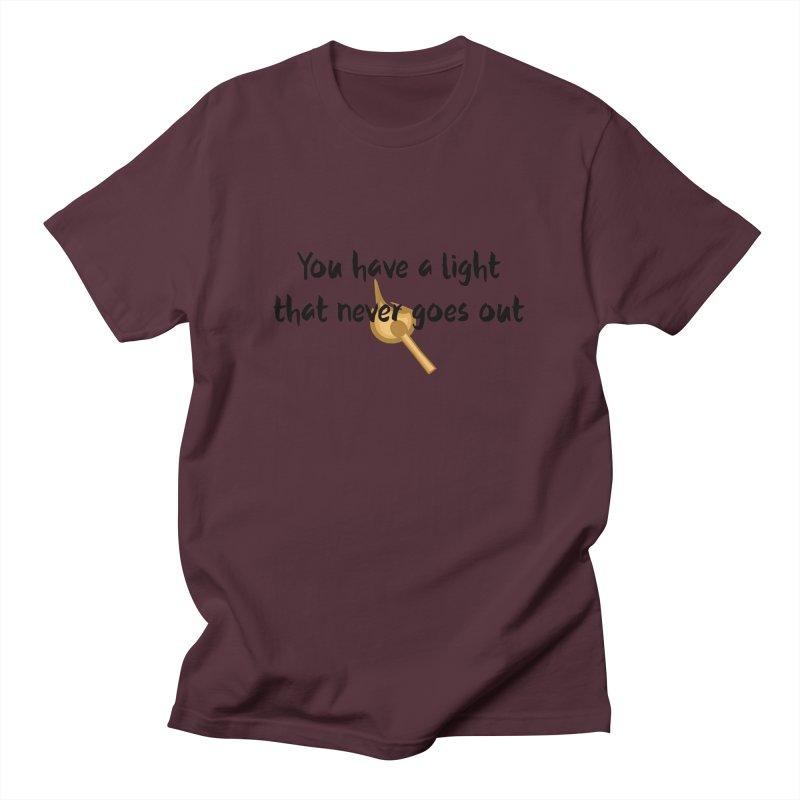 LIGHT! Men's T-Shirt by gasponce