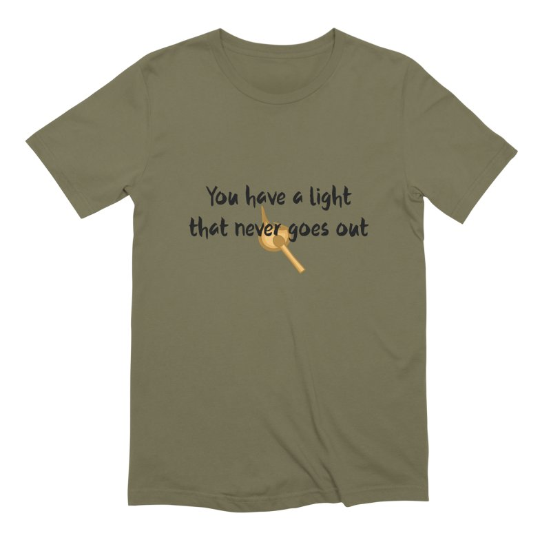 LIGHT! Men's Extra Soft T-Shirt by gasponce