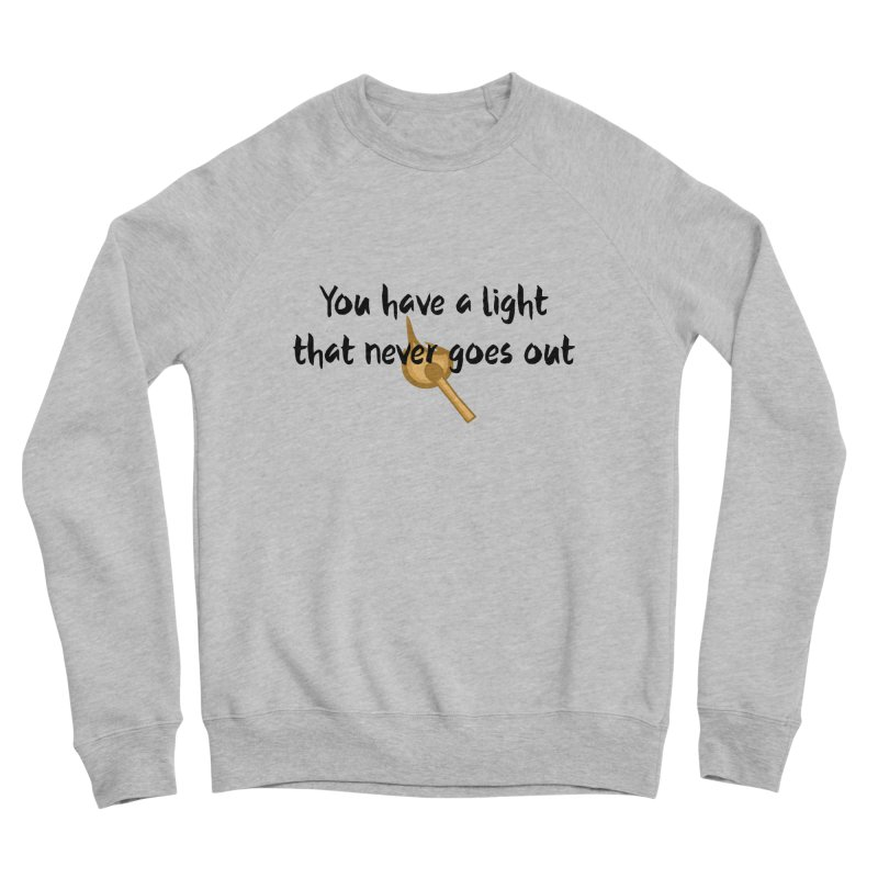 LIGHT! Men's Sponge Fleece Sweatshirt by gasponce