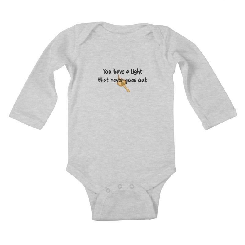 LIGHT! Kids Baby Longsleeve Bodysuit by gasponce