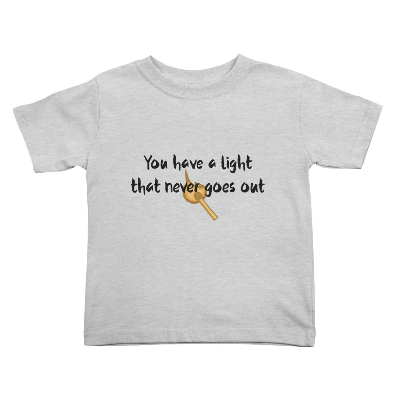 LIGHT! Kids Toddler T-Shirt by gasponce
