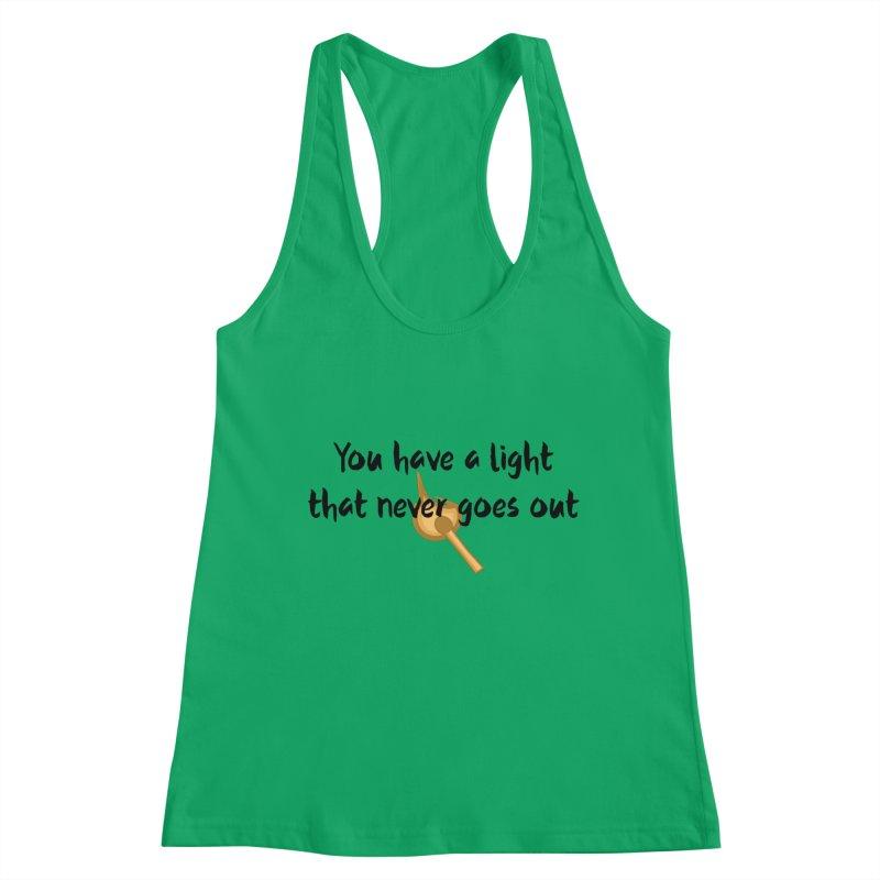LIGHT! Women's Tank by gasponce