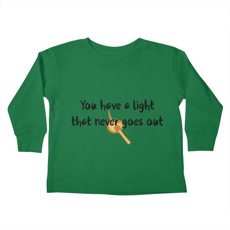 LIGHT! Kids Toddler Longsleeve T-Shirt by gasponce