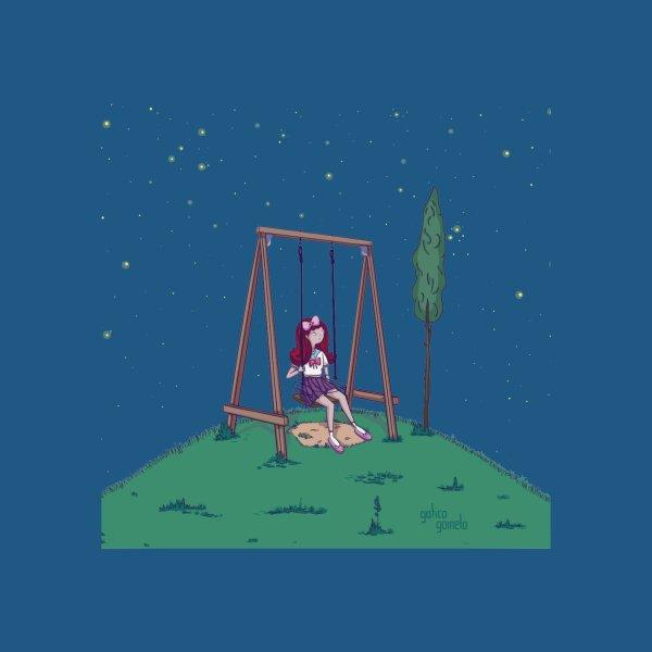 image for girl swinging