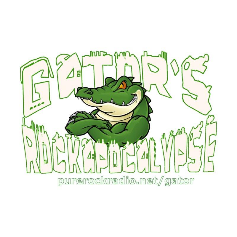 Gator's Rockapocalypse - Transparent Logo Men's Pullover Hoody by Gator's Rockapocalypse