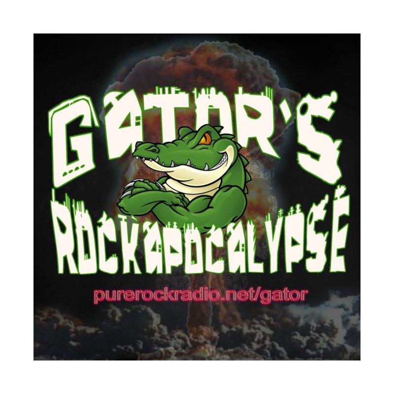 Gator's Rockapocalypse - Logo 3 Home Fine Art Print by Gator's Rockapocalypse