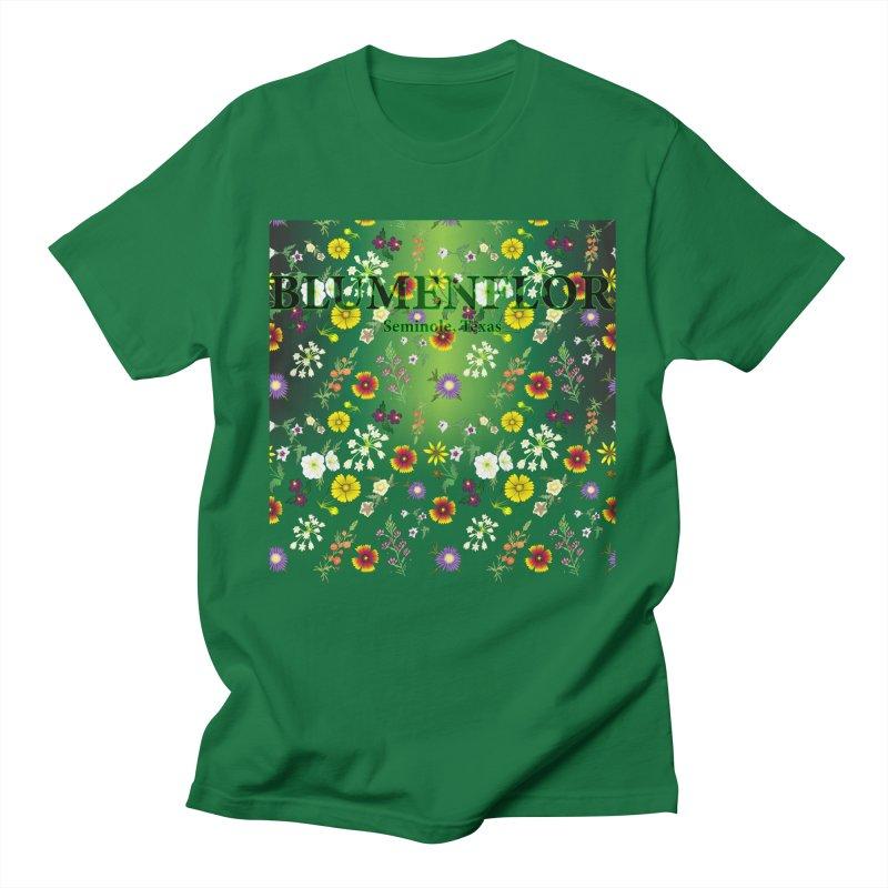 Blumenflor West Texas Wildflowers 2 Men's T-Shirt by gattacho's Artist Shop