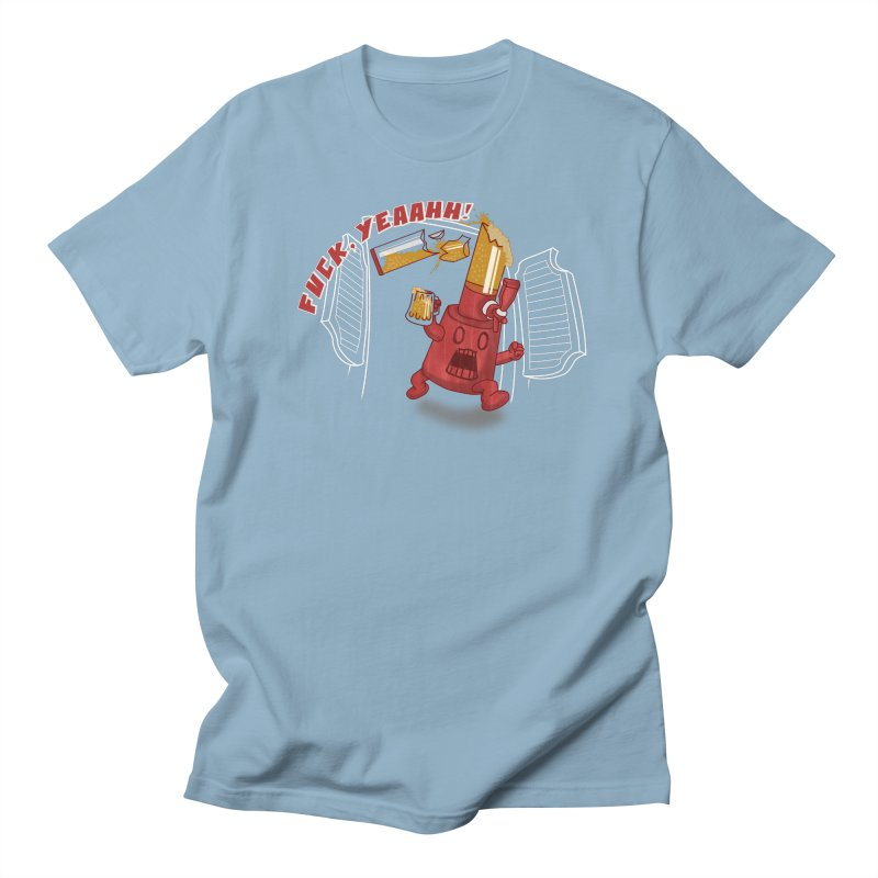 Kool Fuckin' Aid in Men's T-Shirt Light Blue by Thirty Silver