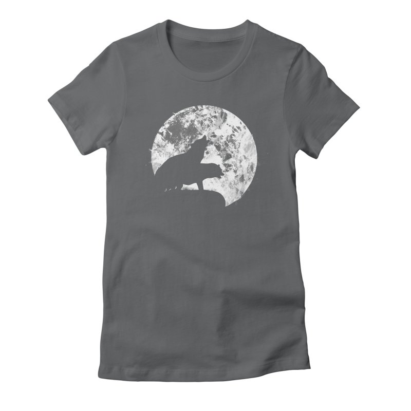 Midnight Delight Women's Fitted T-Shirt by Thirty Silver