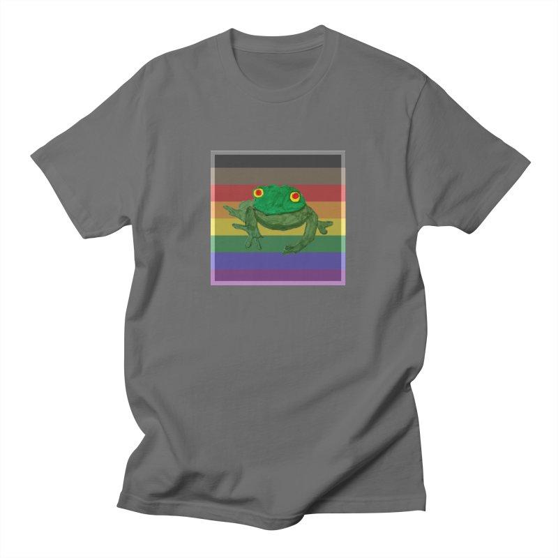 Gay Frog Art Unisex T-Shirt by Gay Frog Studios