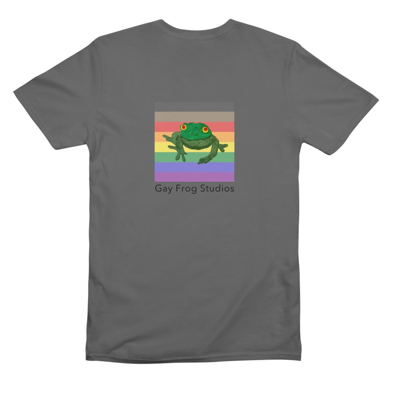 Gay Frog Double Sided Unisex T-Shirt by Gay Frog Studios