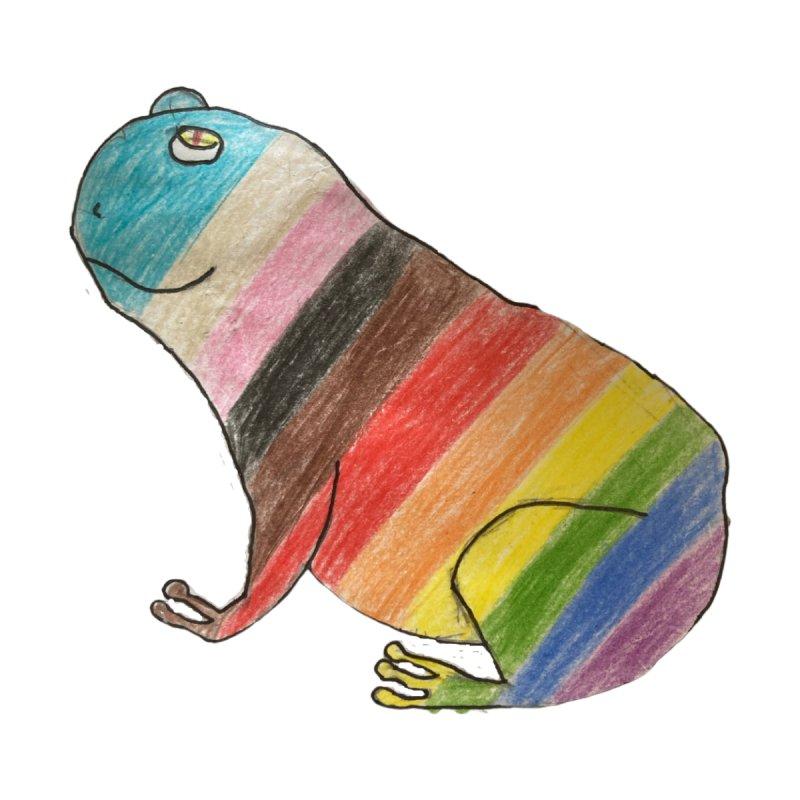 Progress Pride Frog Unisex T-Shirt by Gay Frog Studios