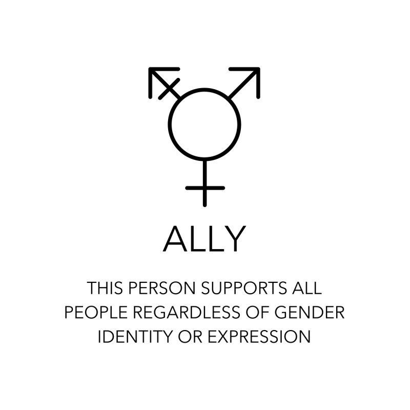 INCLUSIVE PERSON SIGN Unisex T-Shirt by Gay Frog Studios
