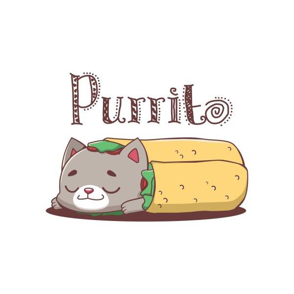 image for Purrito pun design