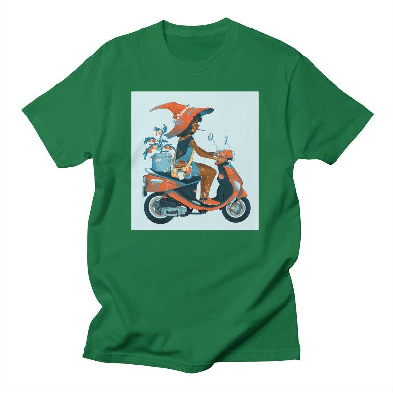 Vespa Men's T-Shirt by Geneva B
