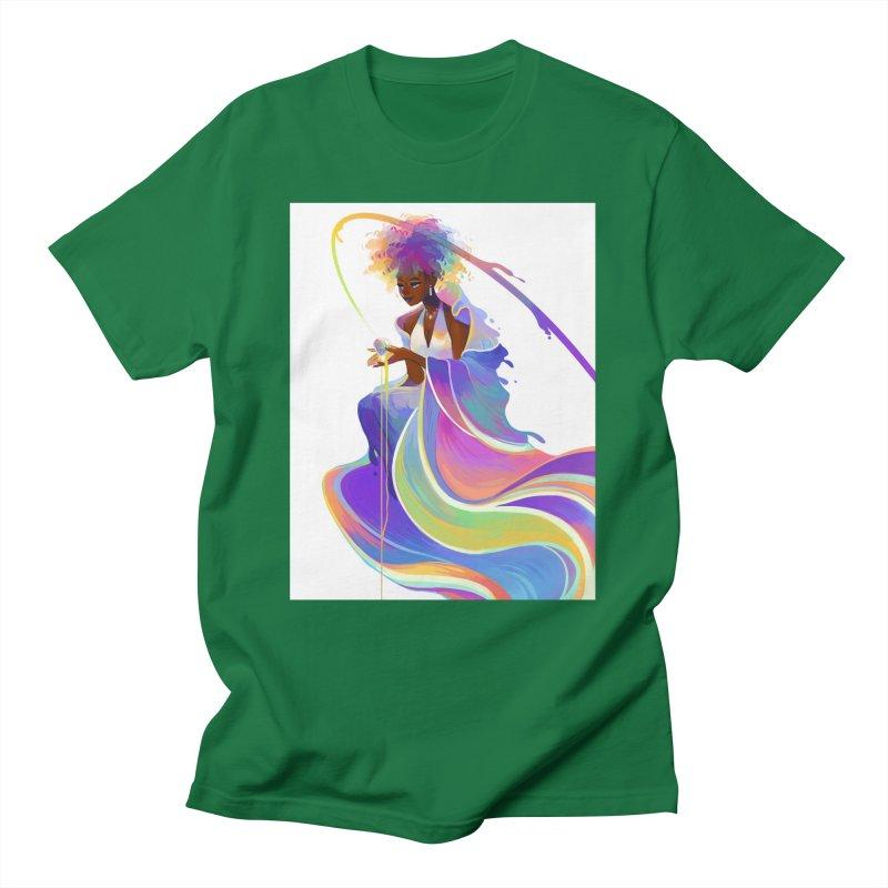 Jewel-Tone Robe Men's T-Shirt by Geneva B