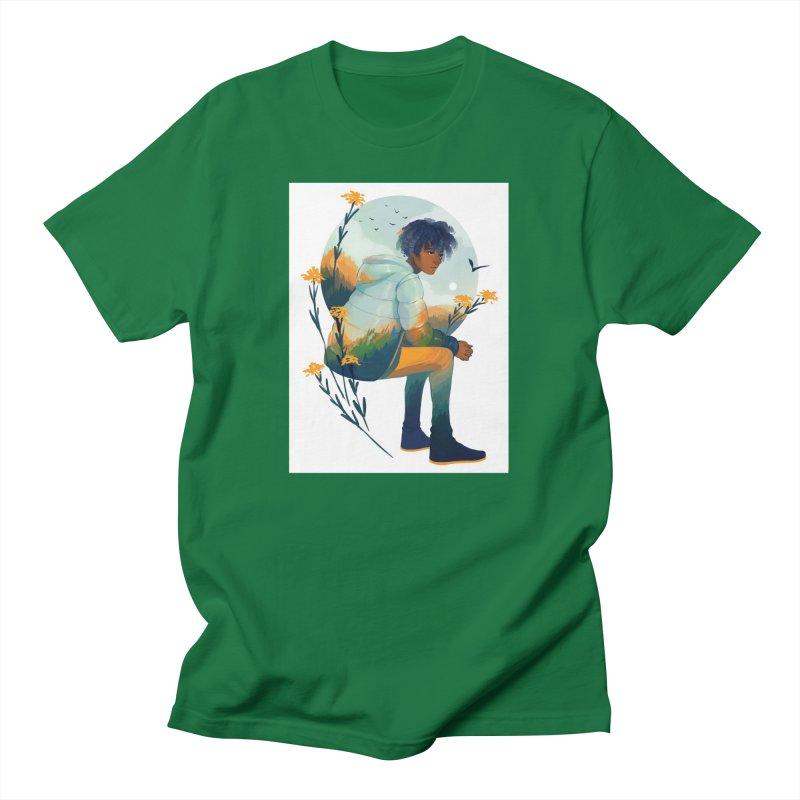 Fall Jacket Men's T-Shirt by Geneva B