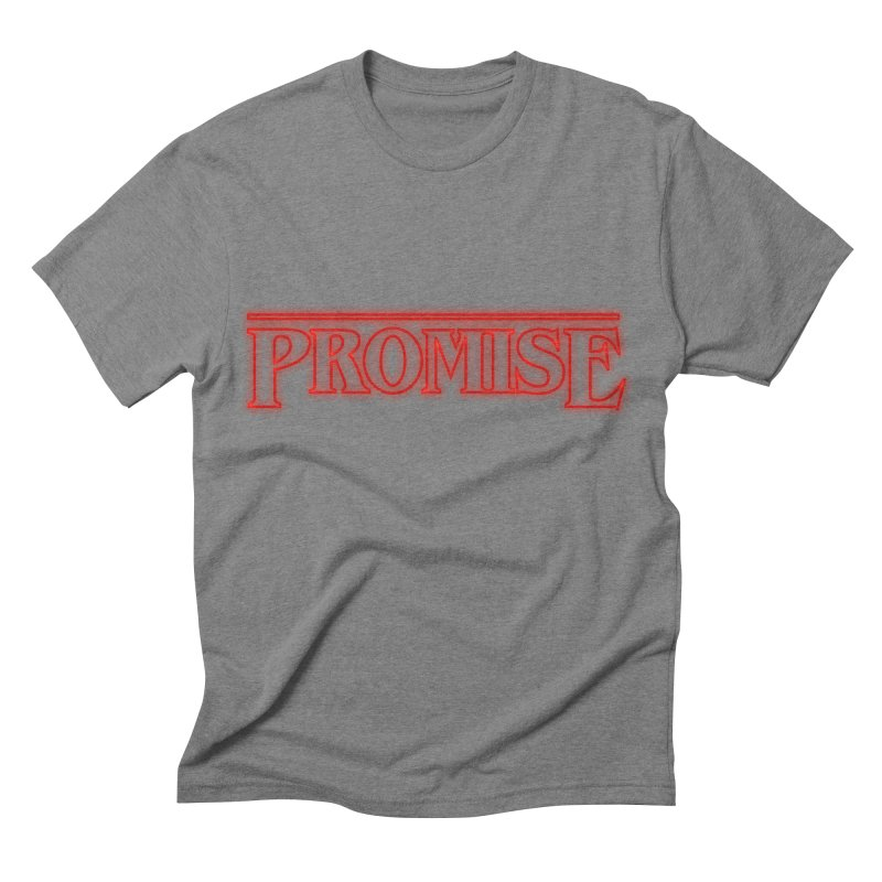 Promise Men's Triblend T-shirt by THE WHITE WOLF TEE