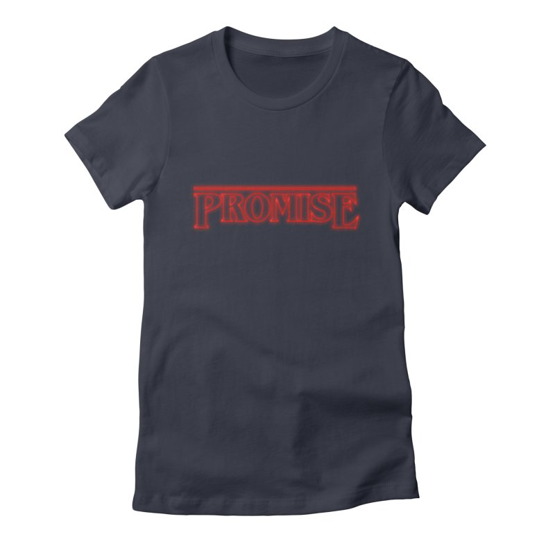 Promise Women's Fitted T-Shirt by GED WORKS