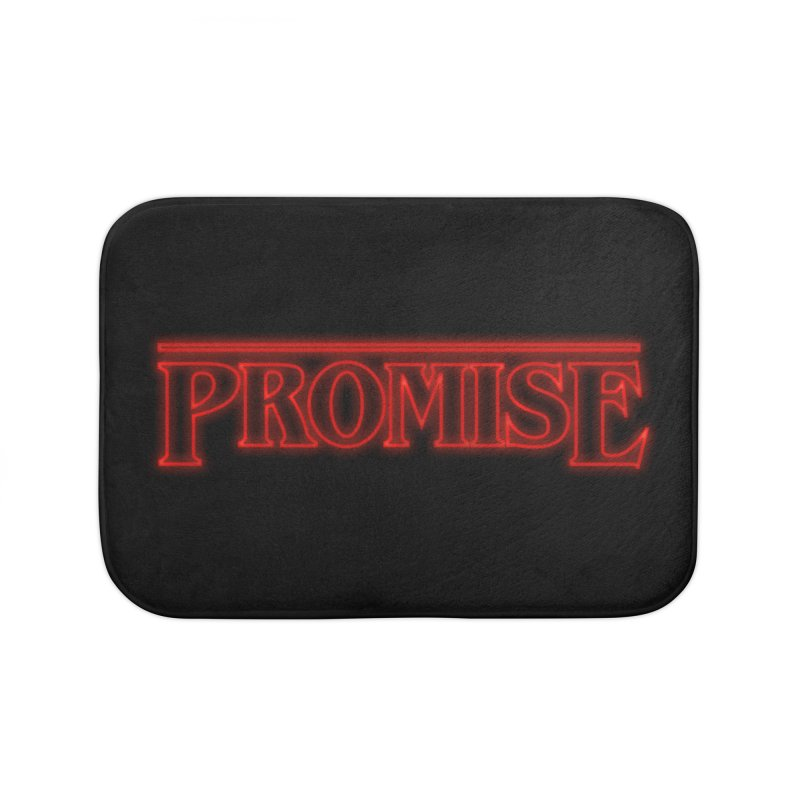 Promise Home Bath Mat by GED WORKS