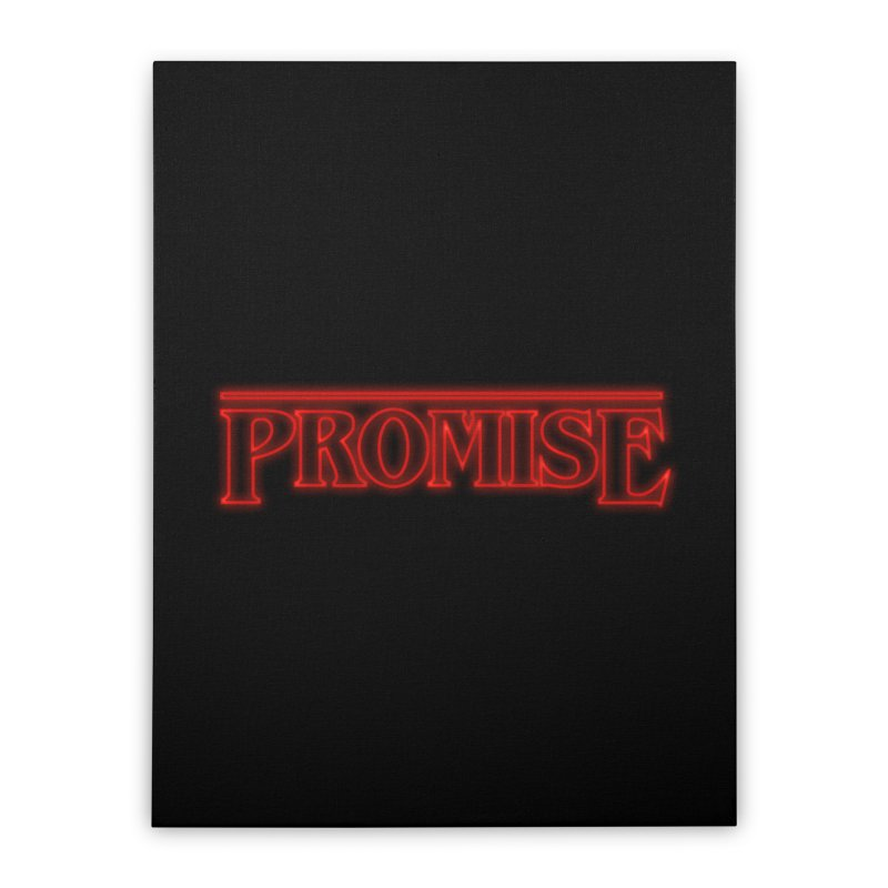 Promise Home Stretched Canvas by GED WORKS