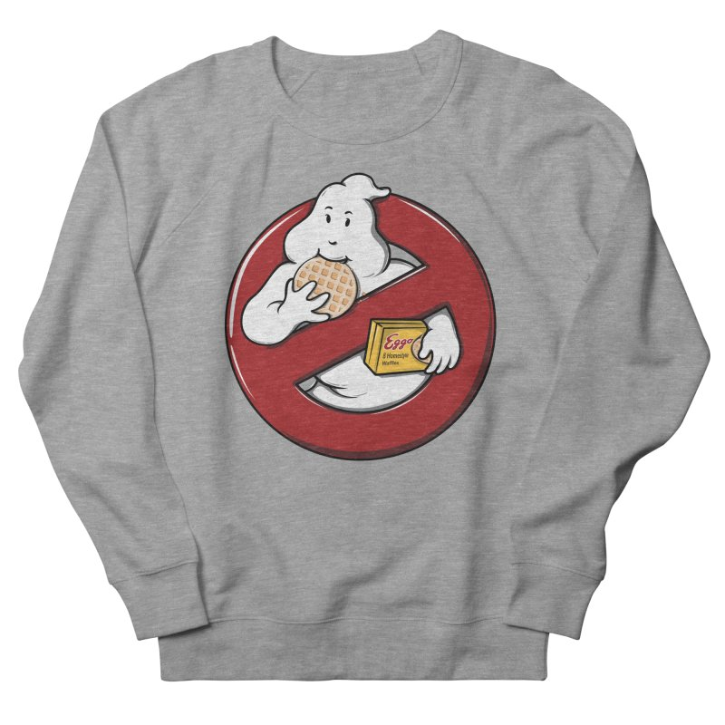 Eggo Buster Women's French Terry Sweatshirt by GED WORKS