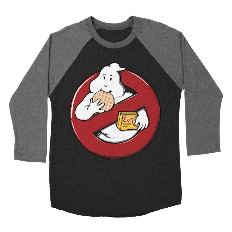 Eggo Buster Men's Baseball Triblend T-Shirt by GED WORKS