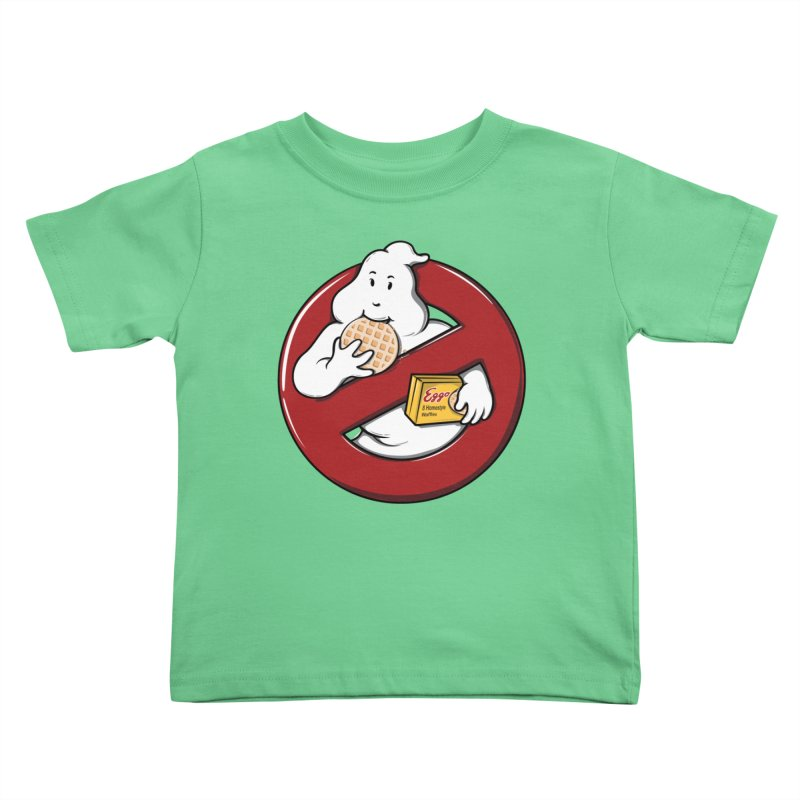 Eggo Buster Kids Toddler T-Shirt by GED WORKS