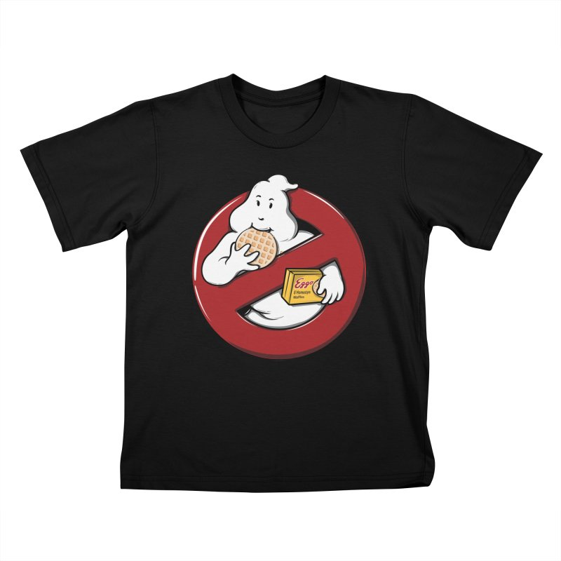 Eggo Buster Kids T-shirt by GED WORKS