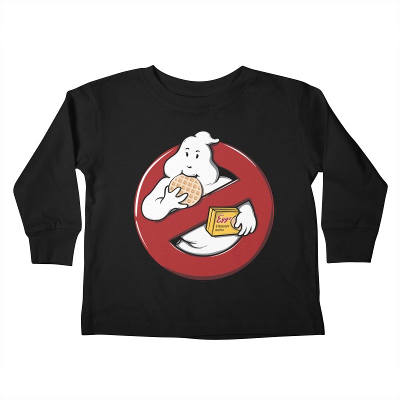 Eggo Buster Kids Toddler Longsleeve T-Shirt by GED WORKS