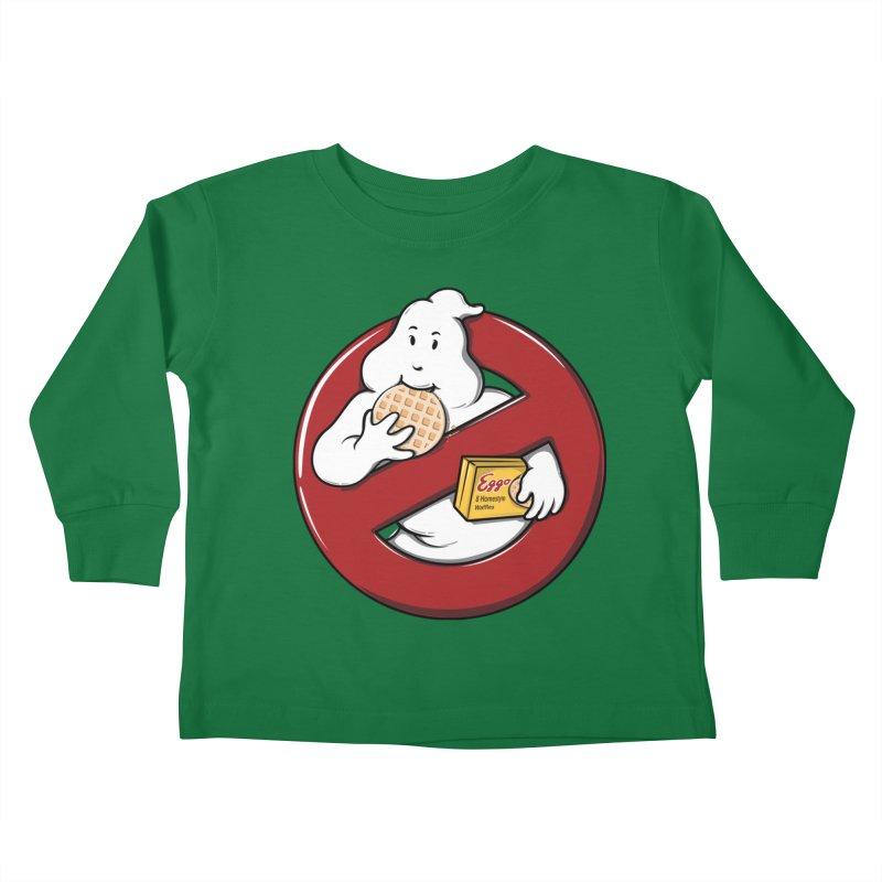 Eggo Buster Kids Toddler Longsleeve T-Shirt by GED WORKS