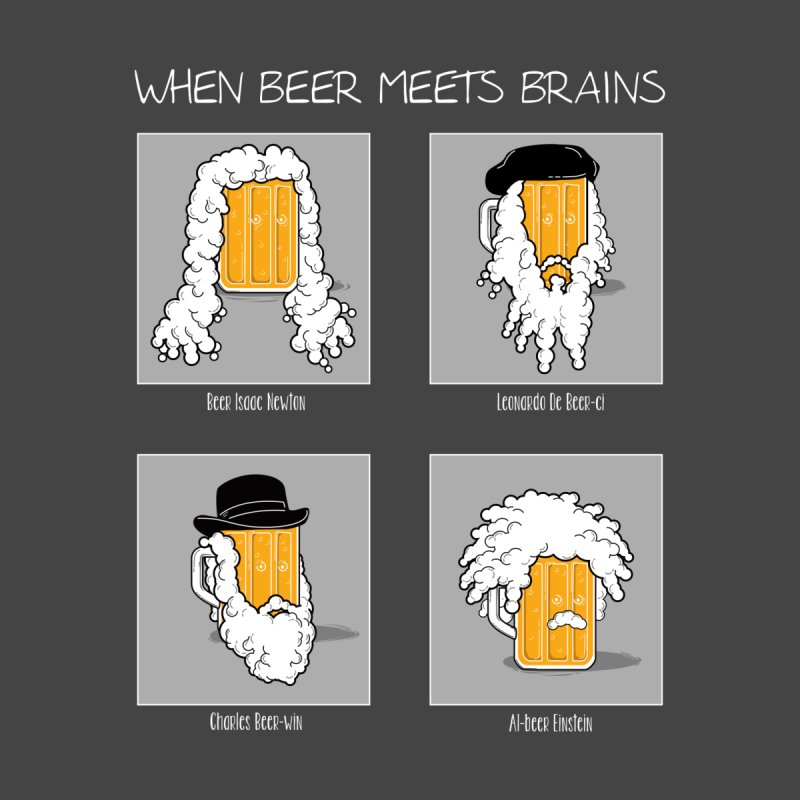 Beer Meets Brains by GED WORKS