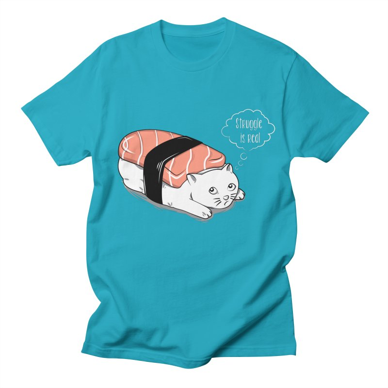 Pushi Cat Women's Unisex T-Shirt by GED WORKS