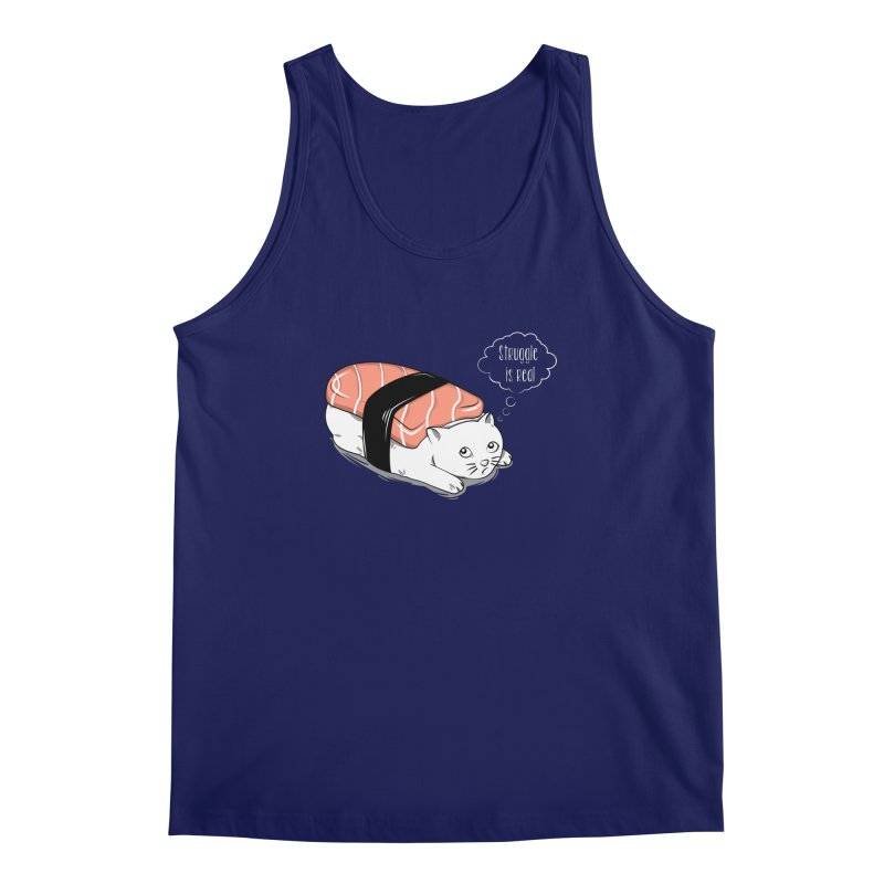 Pushi Cat Men's Tank by GED WORKS