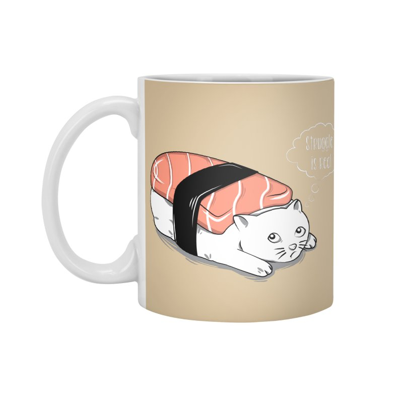 Pushi Cat Accessories Mug by GED WORKS