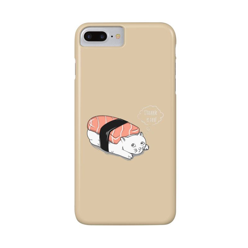 Pushi Cat Accessories Phone Case by GED WORKS