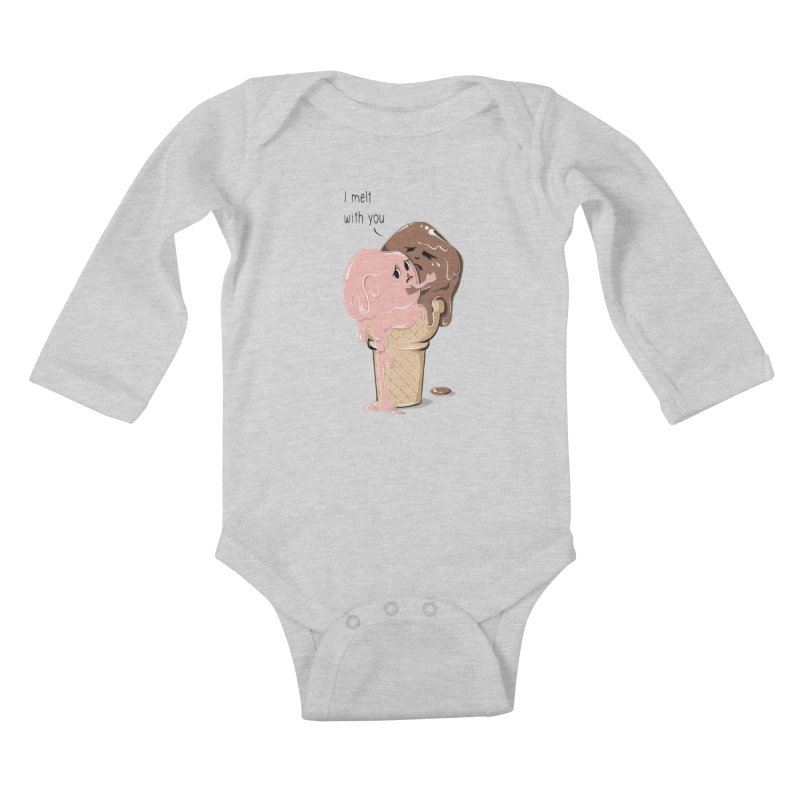 Melt With You Kids Baby Longsleeve Bodysuit by GED WORKS