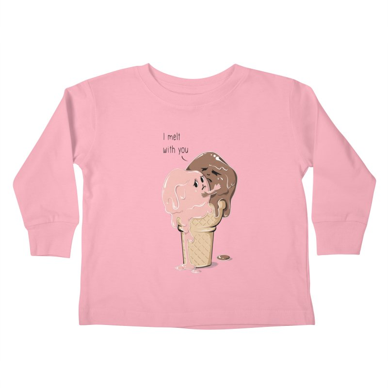 Melt With You Kids Toddler Longsleeve T-Shirt by GED WORKS
