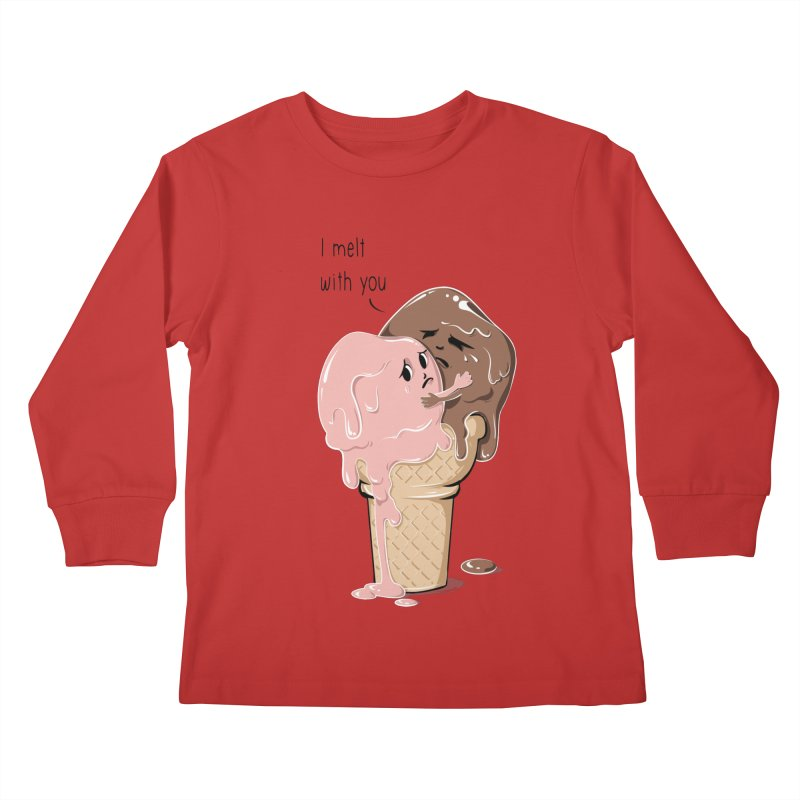 Melt With You Kids Longsleeve T-Shirt by GED WORKS