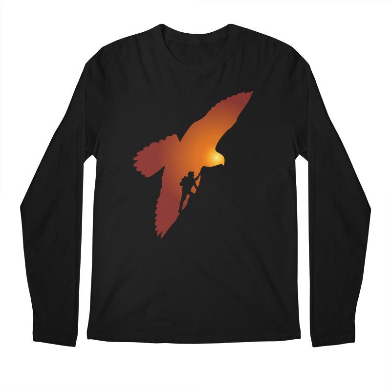 Falcon's Peak Men's Regular Longsleeve T-Shirt by GED WORKS