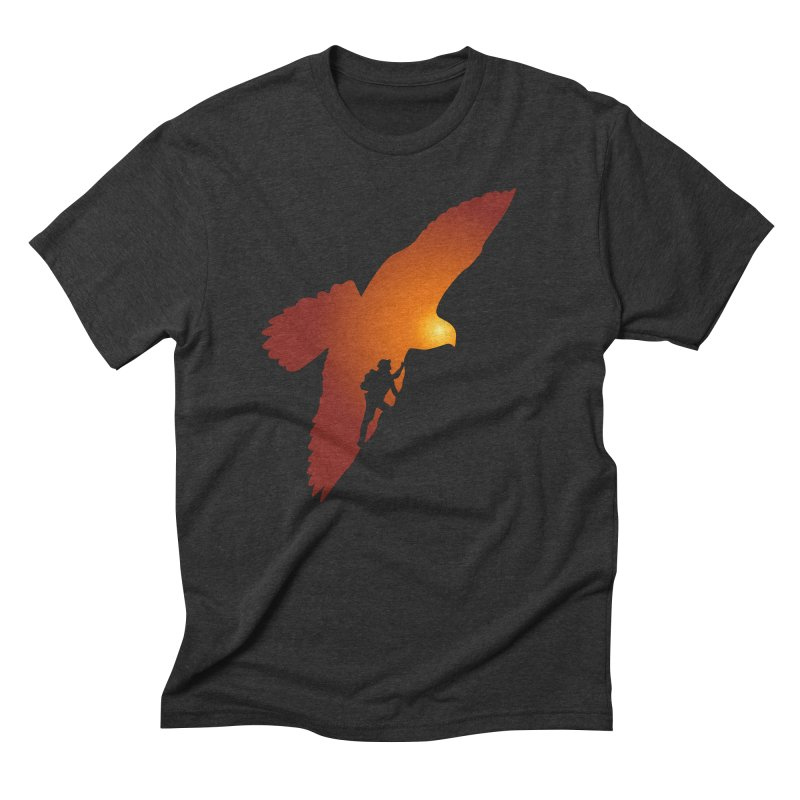 Falcon's Peak Men's Triblend T-Shirt by GED WORKS