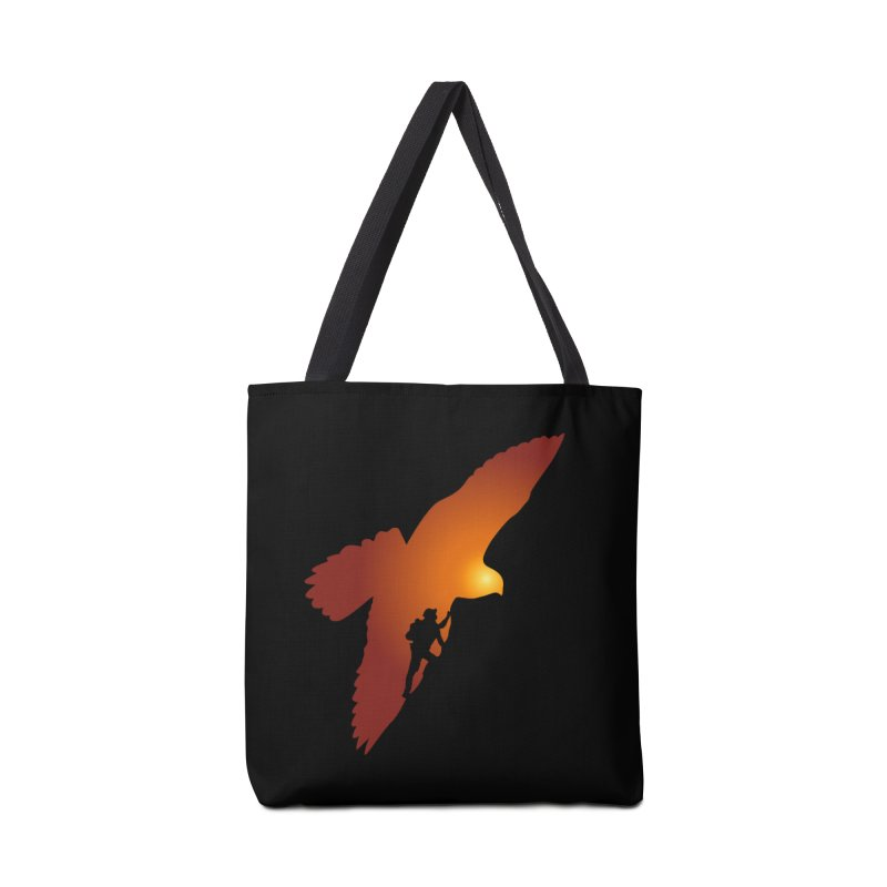 Falcon's Peak Accessories Tote Bag Bag by GED WORKS