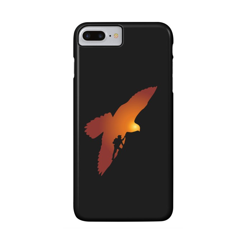 Falcon's Peak Accessories Phone Case by GED WORKS