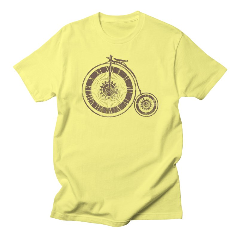 Time Cycle Men's T-Shirt by GED WORKS