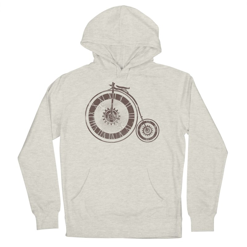 Time Cycle Men's Pullover Hoody by GED WORKS